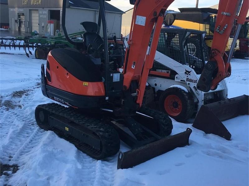2015 Kubota KX71-3 Excavators and Mini Excavator