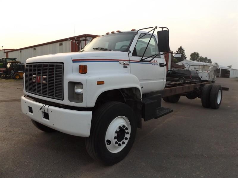 1996 GMC 6000 Semi Truck