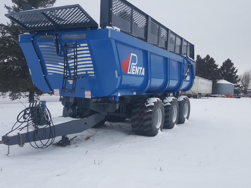 2017 Penta DB50 Forage Wagon