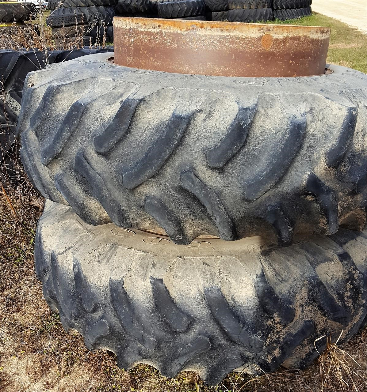 Goodyear 20.8X38 Wheels / Tires / Track