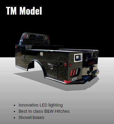 2019 CM TM Truck Bed