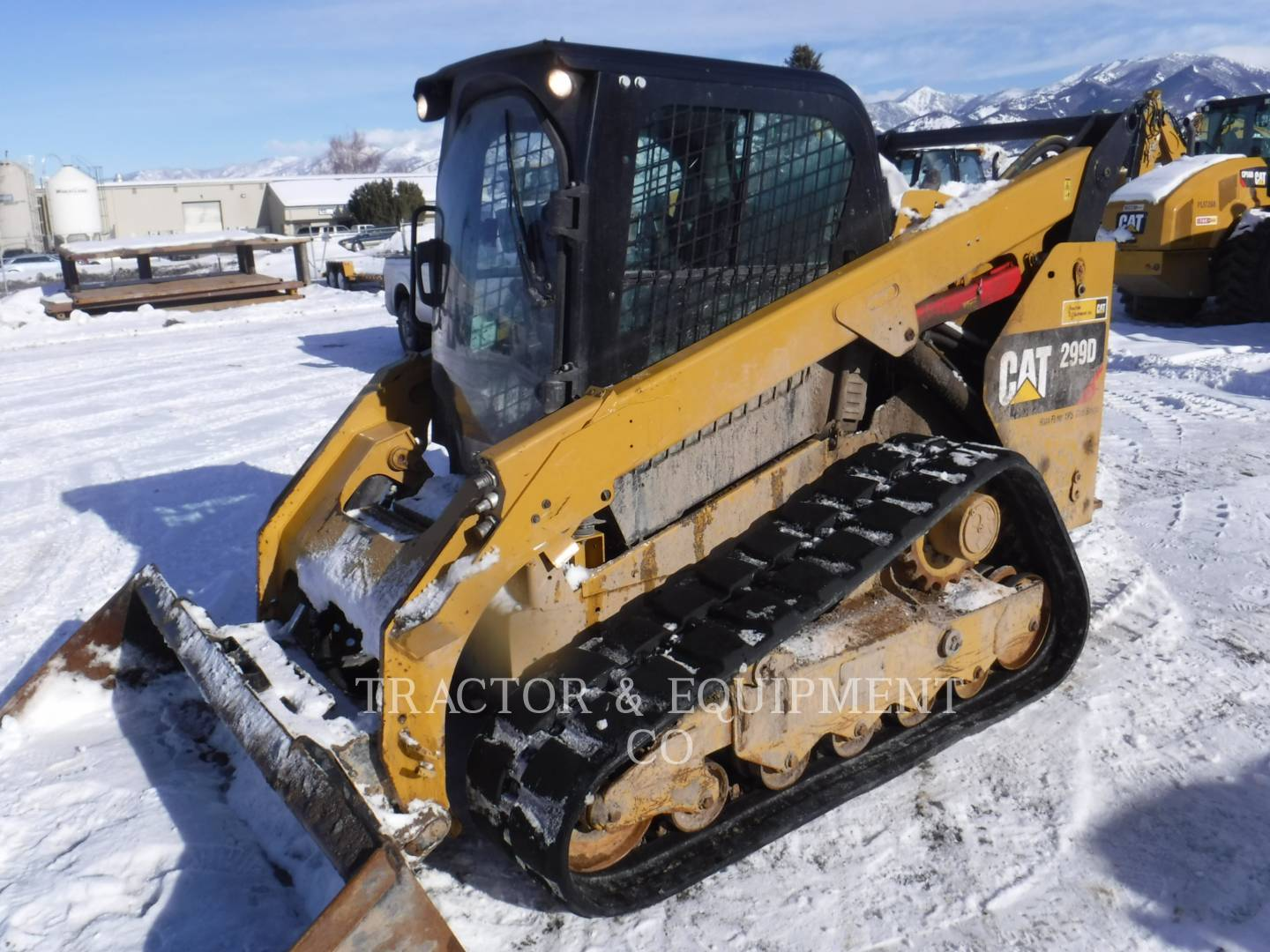 2015 Caterpillar 299D Skid Steer