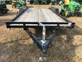 2017 Gatormade Trailers 18' LOWBOY -7K SLIDE IN RAMPS Flatbed Trailer