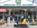 2016 John Deere 17G Excavators and Mini Excavator