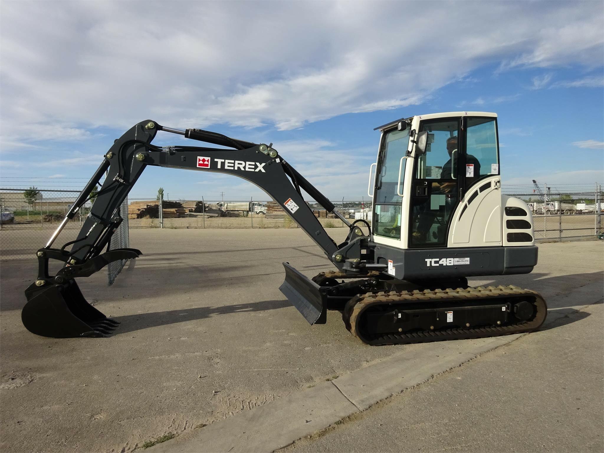 2015 Terex TC48 Excavators and Mini Excavator