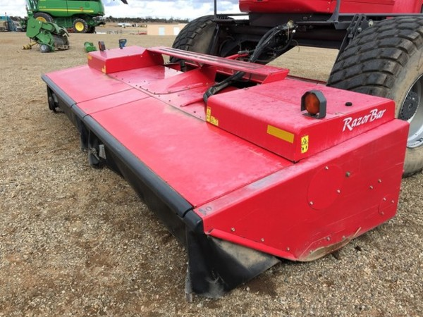 2013 Massey Ferguson WR9770 Self-Propelled Windrowers and Swather