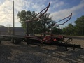 2012 Buhler Farm King 2450 Bale Wagons and Trailer
