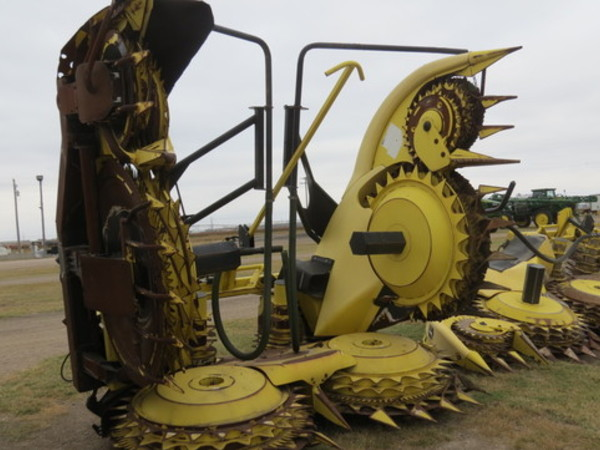 2010 John Deere 770 Forage Harvester Head Garden City Ks Machinery Pete