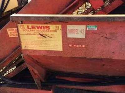 Lewis Brothers Model #3 Manure Spreader