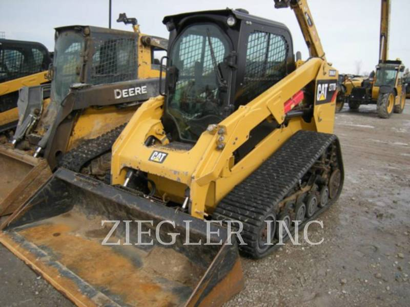 2015 Caterpillar 277D Skid Steer