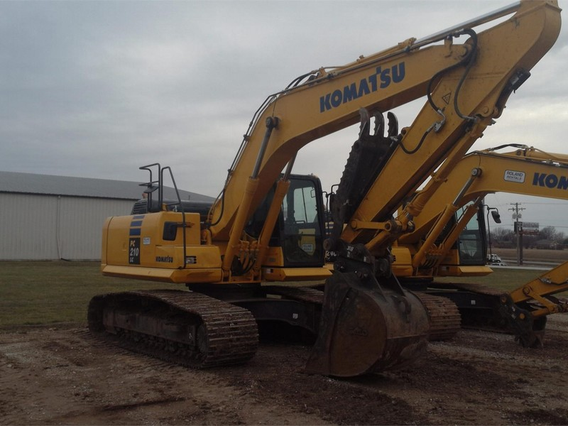 2014 Komatsu PC210 LC-10 Excavators and Mini Excavator