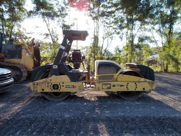 2008 Hypac C766D Compacting and Paving