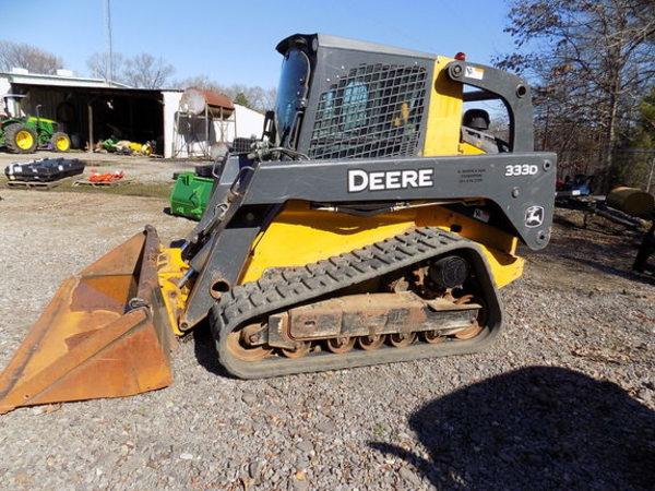 2012 Deere 333D Skid Steer