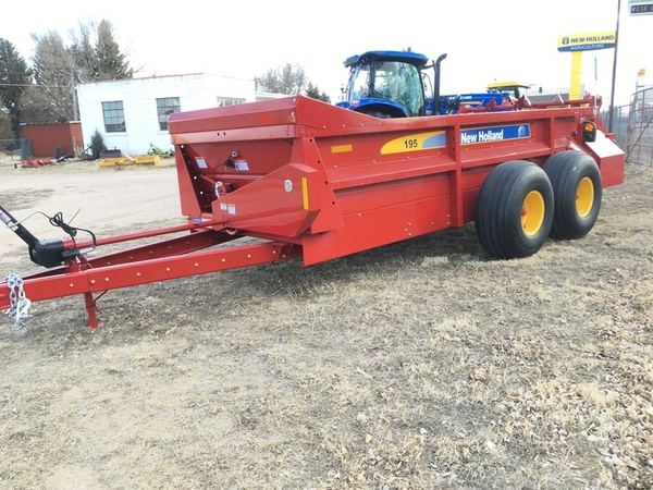 2018 New Holland 195 Manure Spreader