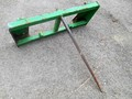 John Deere Bale Spear Loader and Skid Steer Attachment