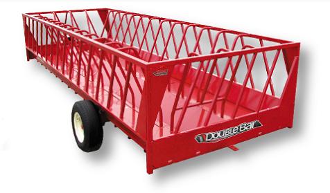 2020 John B.M. Mfg Double Bar Feeder 16 Cattle Equipment