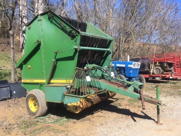 John Deere 510 Round Balers for Sale | Machinery Pete
