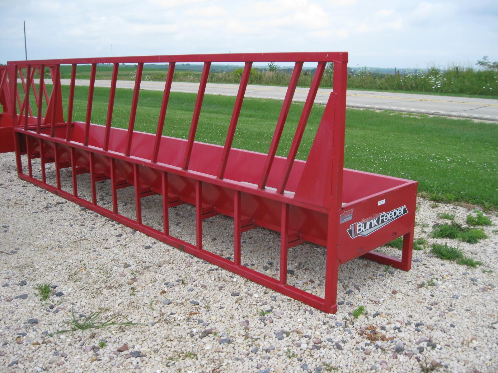 2021 John B.M. Mfg Fence Line Feeder Cattle Equipment