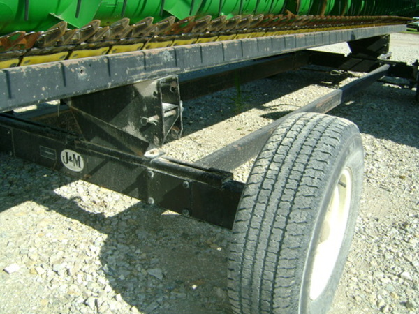 1997 J&M HT-8    25FT Header Trailer