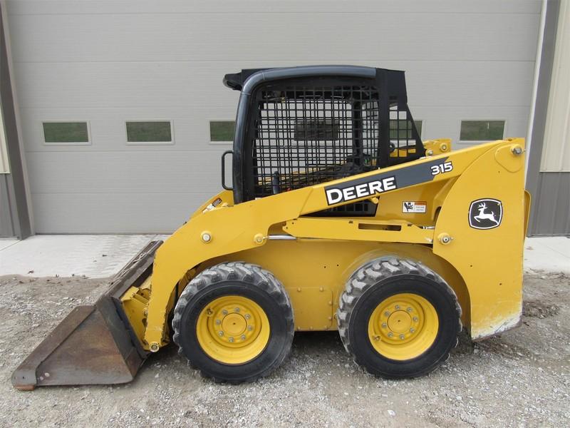 2012 Deere 315 Skid Steer