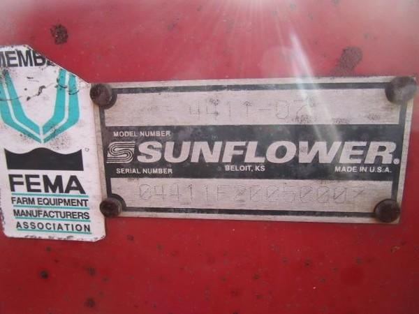 2007 Sunflower 4411-9 Disk Chisel