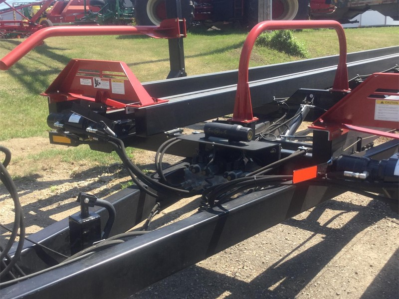 2018 Farm King 2450 Bale Wagons and Trailer