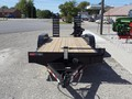 2017 Mac-Lander SKID STEER Flatbed Trailer