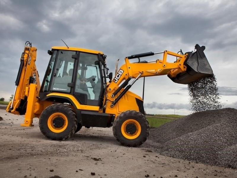 2018 JCB 3CX COMPACT Backhoe