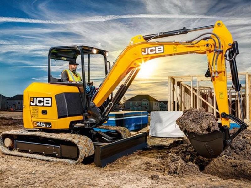 2019 JCB 45Z-1 Excavators and Mini Excavator