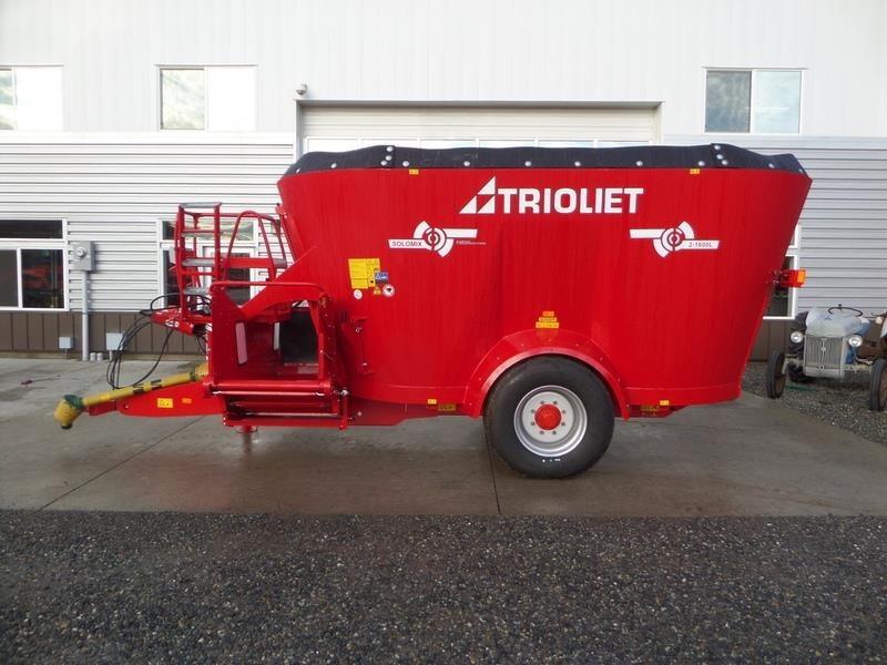 2018 Trioliet SOLOMIX 2-1600L VLL-C Feed Wagon