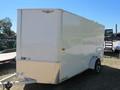 2013 H&H 6x12 Cargo Trailer Box Trailer