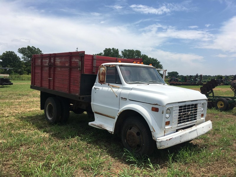 Trucks For Sale In Oklahoma >> 1966 GMC 60 Grain Truck - Pauls Valley, Oklahoma | Machinery Pete