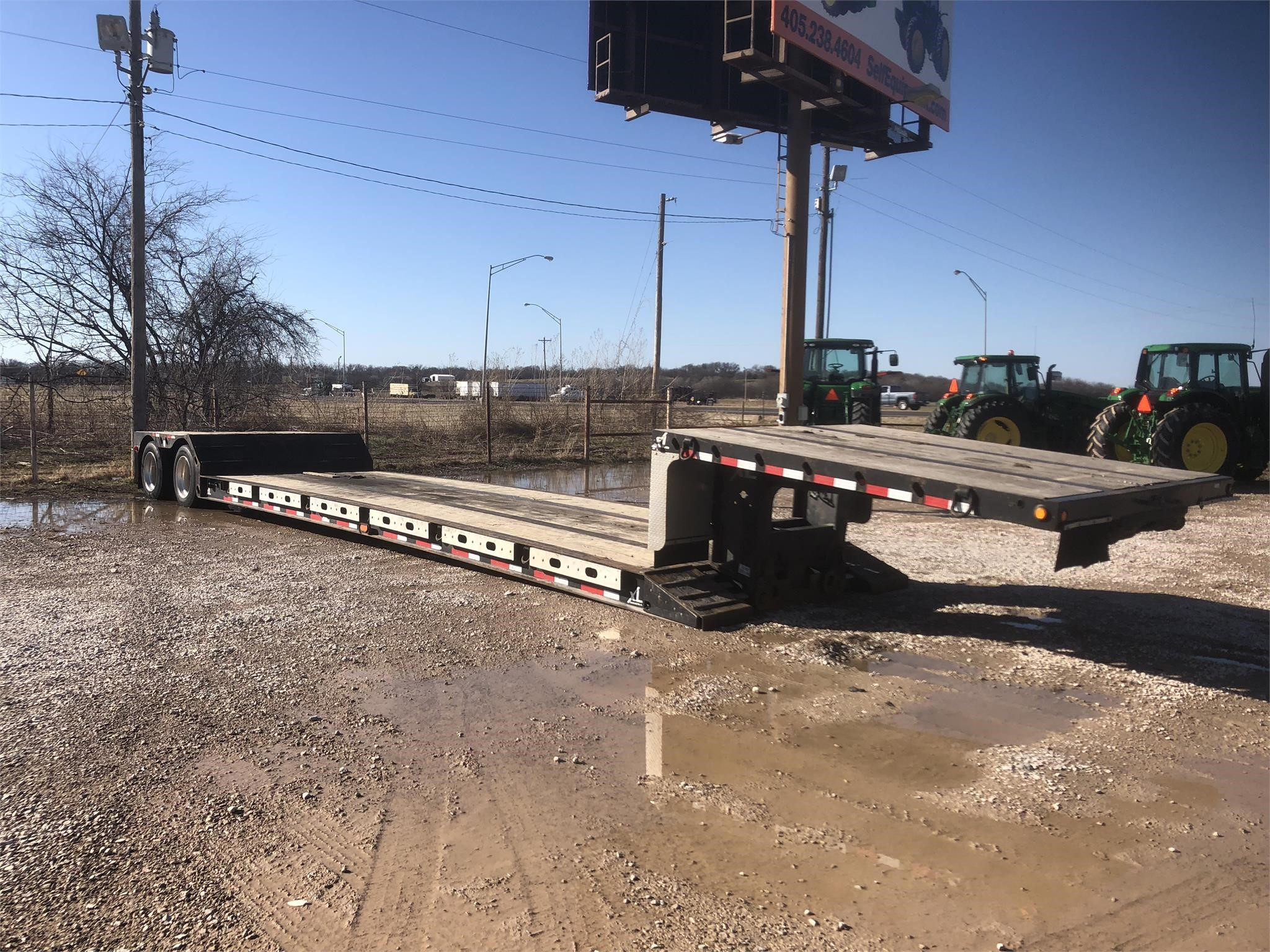 2013 Excel 48 Flatbed Trailer