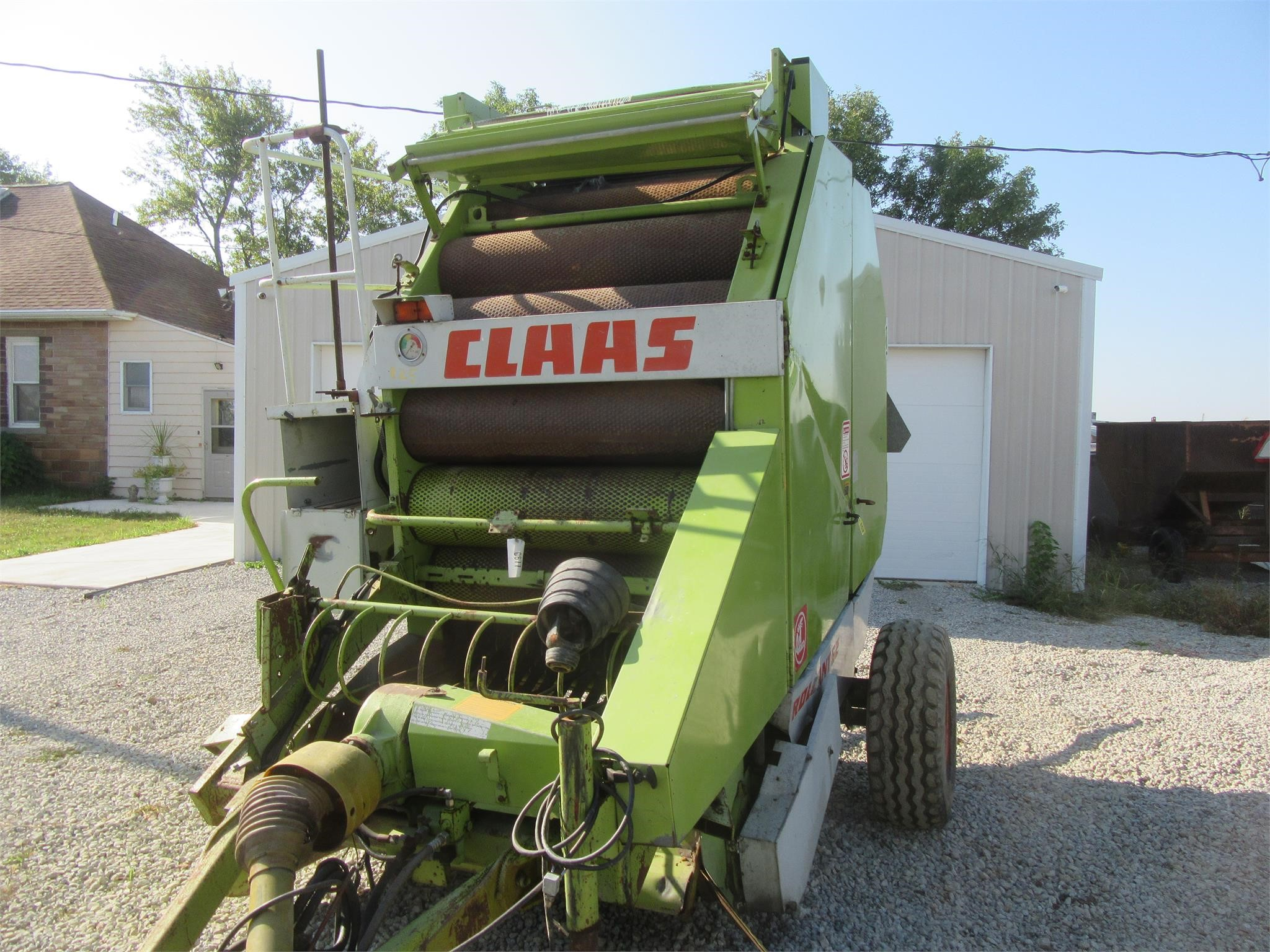 Claas ROLLANT 62S Round Baler