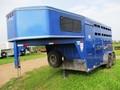 2000 Titan Gooseneck Livestock Trailer