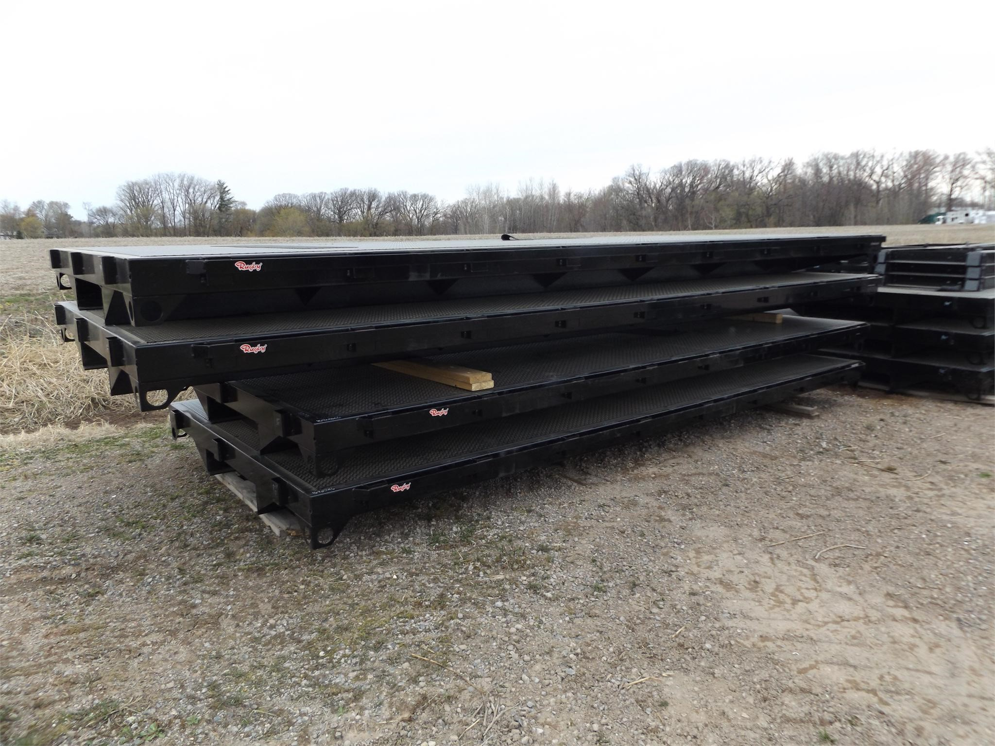 2019 Rugby 16 FT Flatbed Trailer