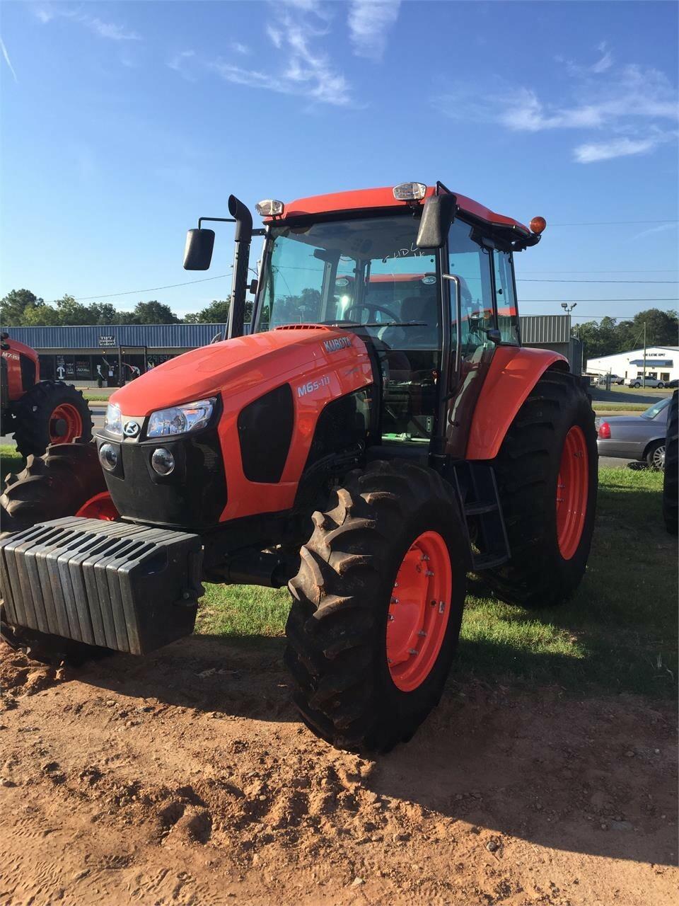 2021 Kubota M6S-111SHDC Tractor