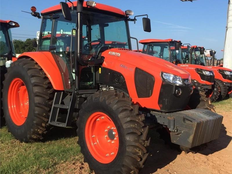 2019 Kubota M6S-111SHDC Tractor