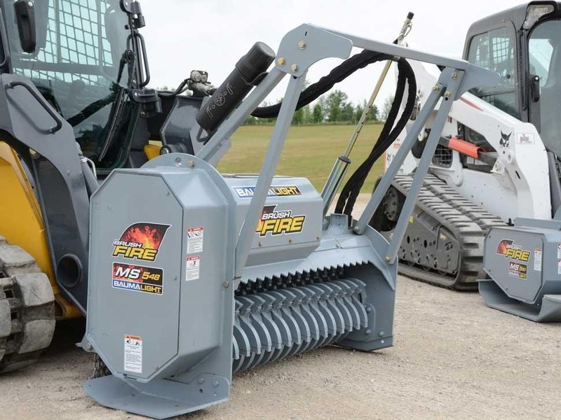 BaumaLight MS548 Loader and Skid Steer Attachment