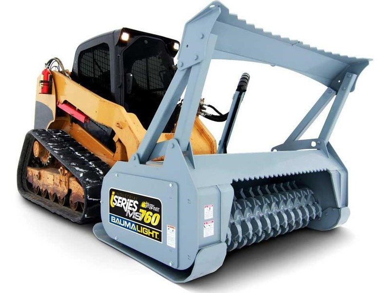 BaumaLight MS760 Loader and Skid Steer Attachment