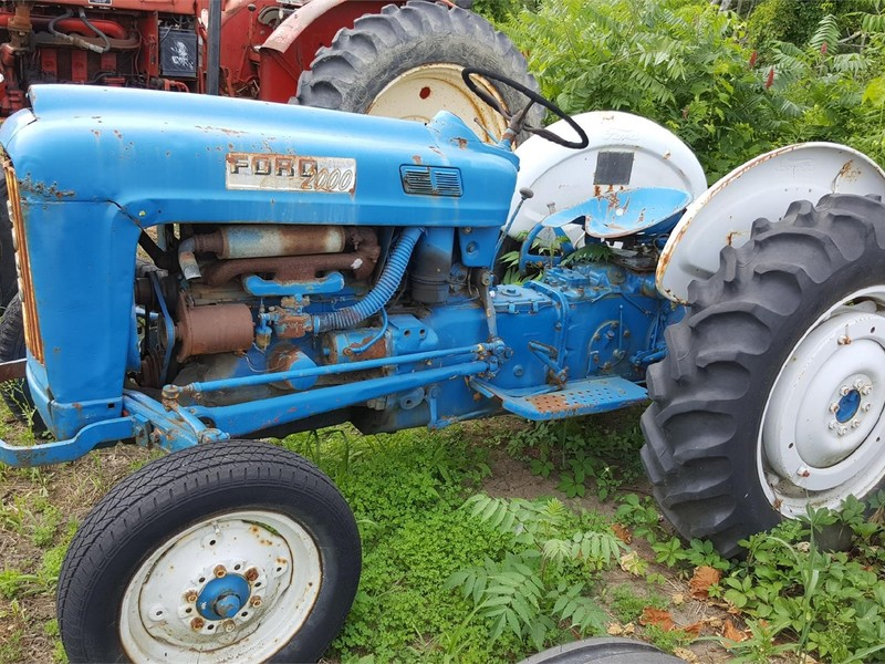 1963 Ford Tractor Model 2000 : Ford tractor union city pa machinery pete