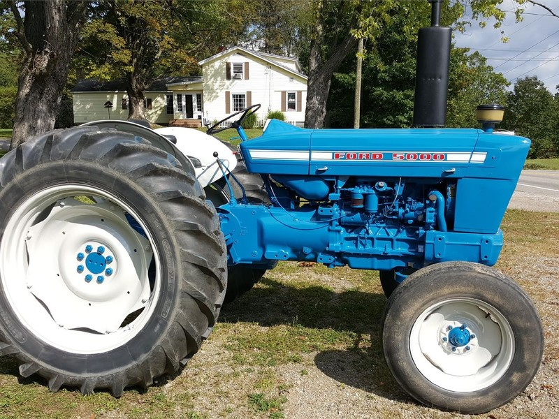 Ford 5000 Tractor Specs : Ford tractor union city pa machinery pete