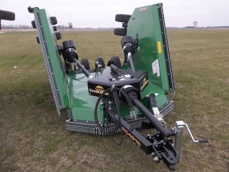 2016 Great Plains RC4615 Batwing Mower