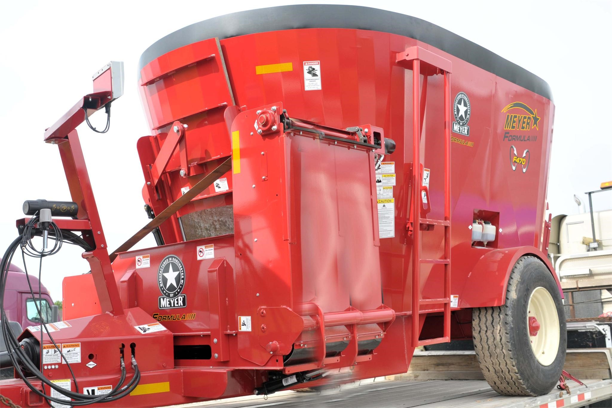 2021 Meyer F470 Grinders and Mixer