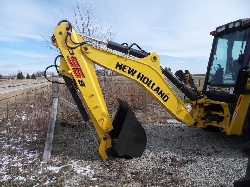 New Holland B95C Backhoe