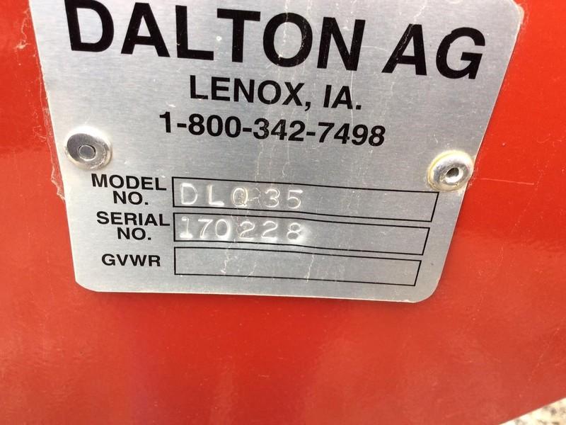2018 Dalton Ag Products DLQ Toolbar