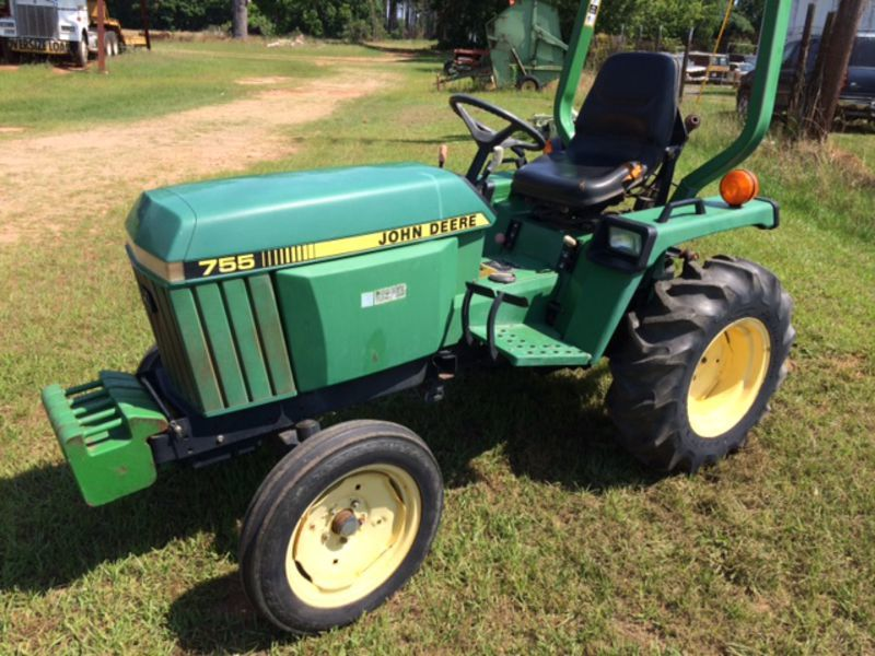 1996 john deere 755 tractor americus ga machinery pete. Black Bedroom Furniture Sets. Home Design Ideas
