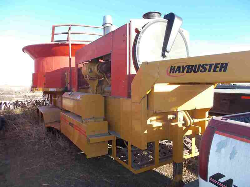 Haybuster H1100 Grinders and Mixer
