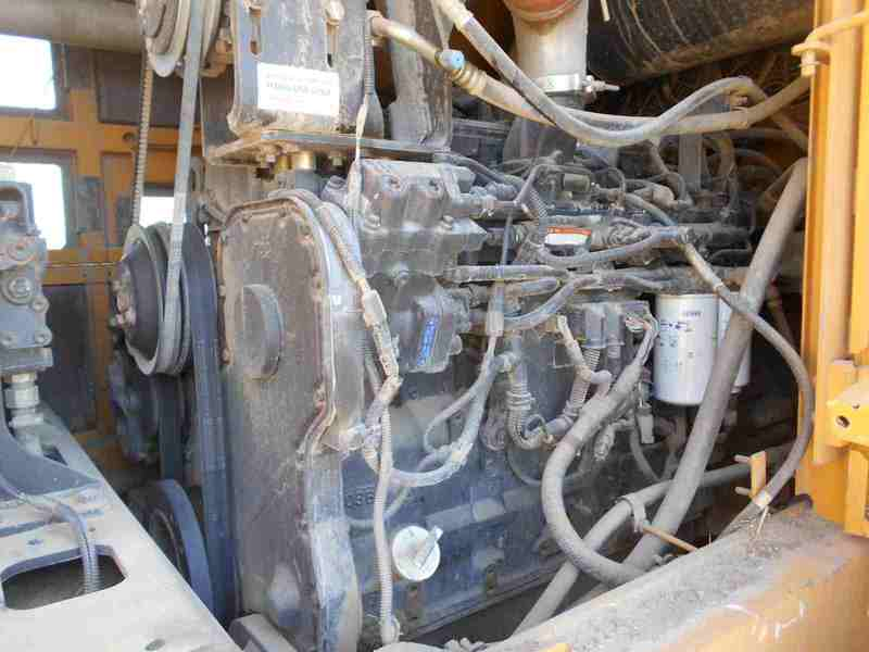 2008 Kawasaki 80Z V-2 Wheel Loader
