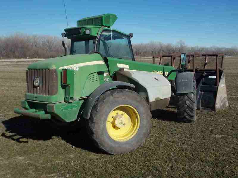 2002 John Deere 3400 Telehandler